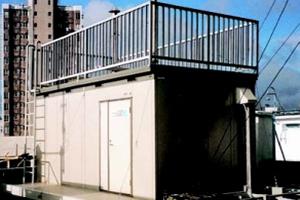 環保署的空氣樣本收集站